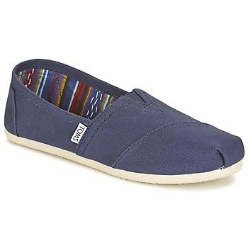 Sapatos Mulher Slip on Toms CLASSICS Marinho