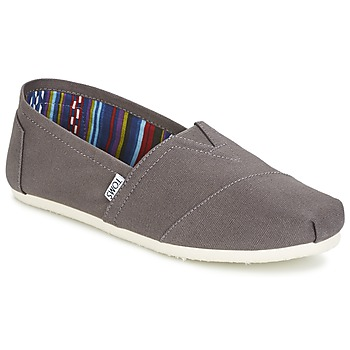 Sapatos Homem Slip on Toms CLASSICS Cinza