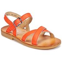 Sapatos Rapariga Sandálias Start Rite NICE II Laranja