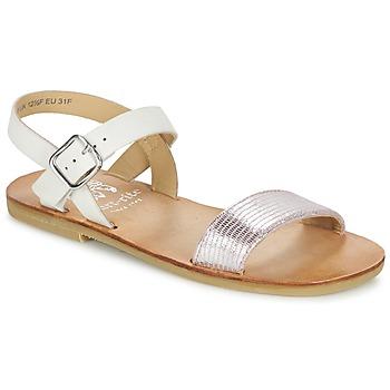 Sapatos Rapariga Sandálias Start Rite FLORA II Rosa / Branco