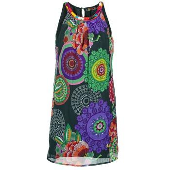 Textil Mulher Vestidos curtos Desigual ESTOLE Multicolor