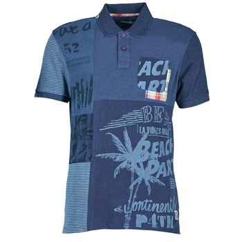 Textil Homem Polos mangas curta Desigual BELUDINE Azul