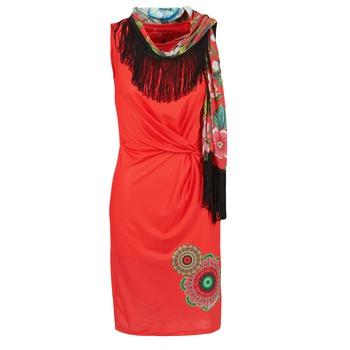 Textil Mulher Vestidos curtos Desigual USIME Vermelho