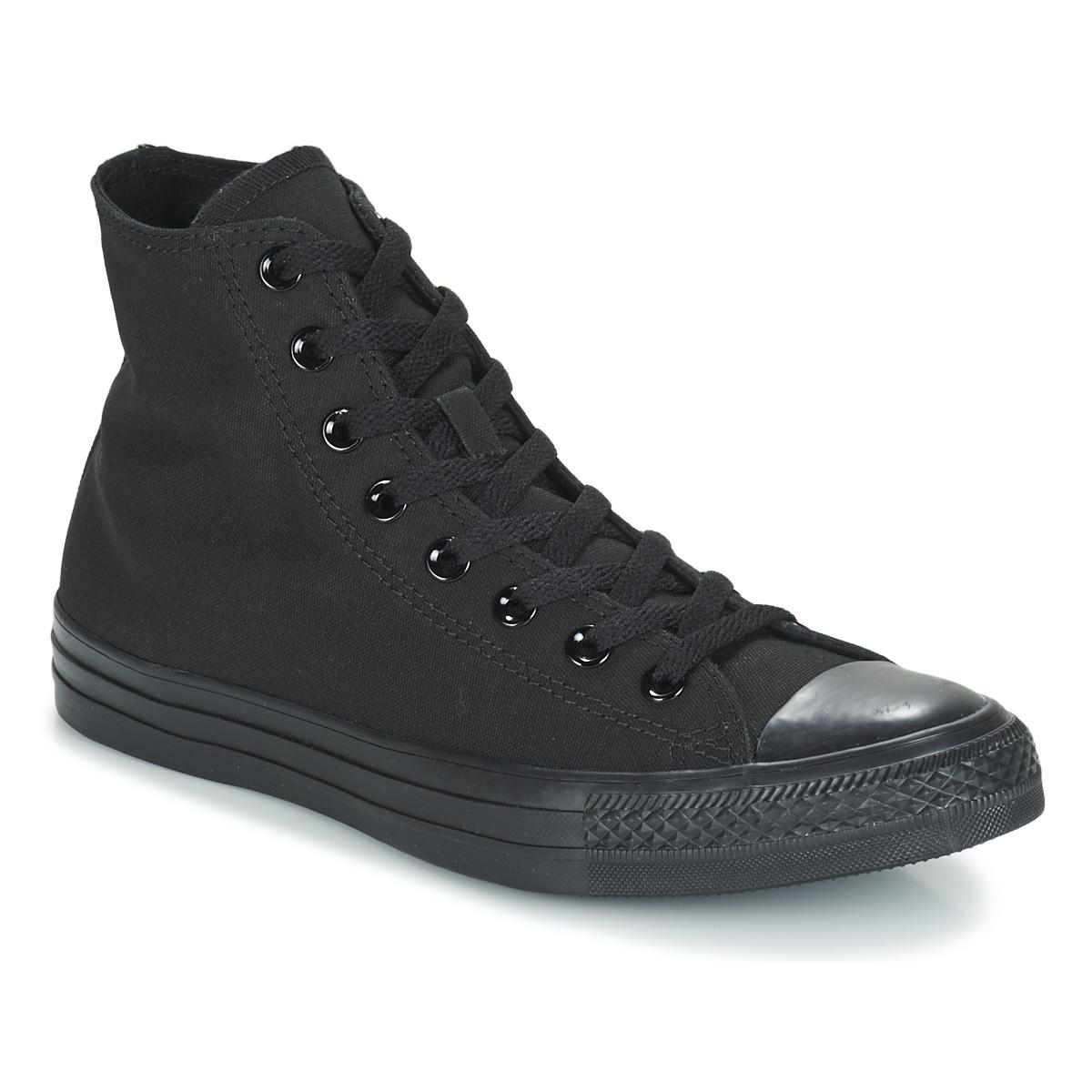Sapatos Sapatilhas de cano-alto Converse CHUCK TAYLOR ALL STAR MONO HI Preto fd948f3888
