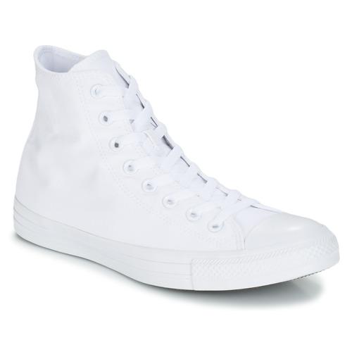 05396bfedfffc Sapatos Sapatilhas de cano-alto Converse CHUCK TAYLOR ALL STAR MONO HI  Branco