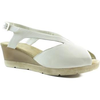 Sapatos Mulher Sandálias Montesinos SANDALIA ANATOMICA COMODA MUJER ABIERTA BEIGE