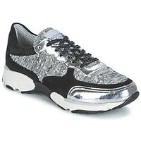 Sapatos Mulher Sapatilhas Meline AMAL Preto / Branco / Cinza