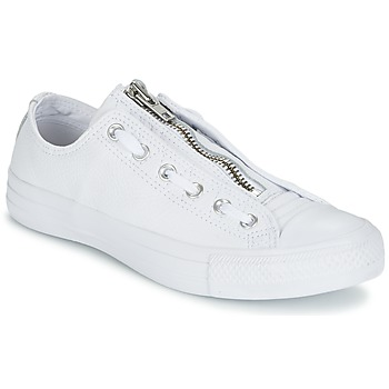 Sapatos Homem Sapatilhas Converse CHUCK TAYLOR ALL STAR MA-1 ZIP MILITARY LEATHER OX Branco
