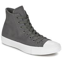 Sapatos Sapatilhas de cano-alto Converse CHUCK TAYLOR All Star II HI Cinza