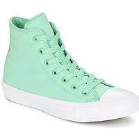 Sapatos Sapatilhas de cano-alto Converse CHUCK TAYLOR All Star II NEON HI Verde