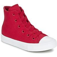 Sapatos Criança Sapatilhas de cano-alto Converse CHUCK TAYLOR All Star II HI Vermelho