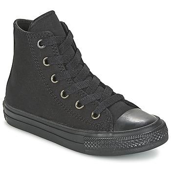 Sapatos Criança Sapatilhas de cano-alto Converse CHUCK TAYLOR All Star II HI Preto