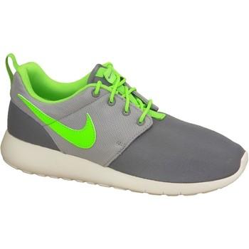 Sapatos Rapaz Sapatilhas Nike Roshe One Gs 599728-025 Green,Grey,White