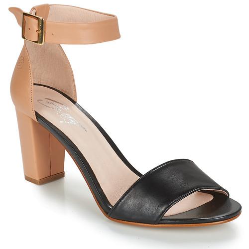 Sapatos Mulher Sandálias Betty London CRETA Cru / Preto