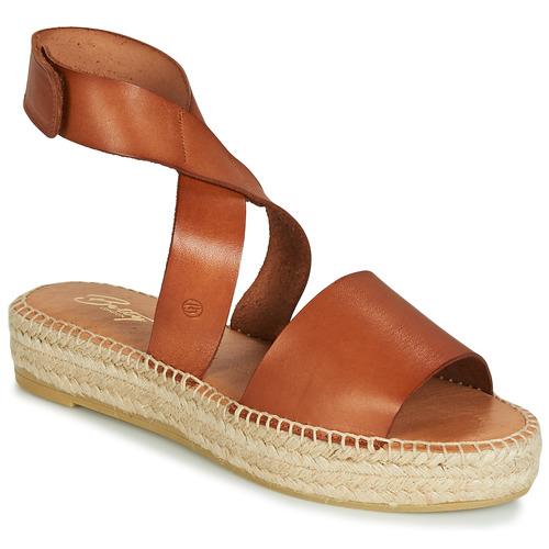 Sapatos Mulher Sandálias Betty London EBALUIE Camel