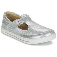 Sapatos Rapariga Sabrinas Birkenstock ABILENE Prateado
