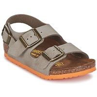 Sapatos Criança Sandálias Birkenstock MILANO Toupeira
