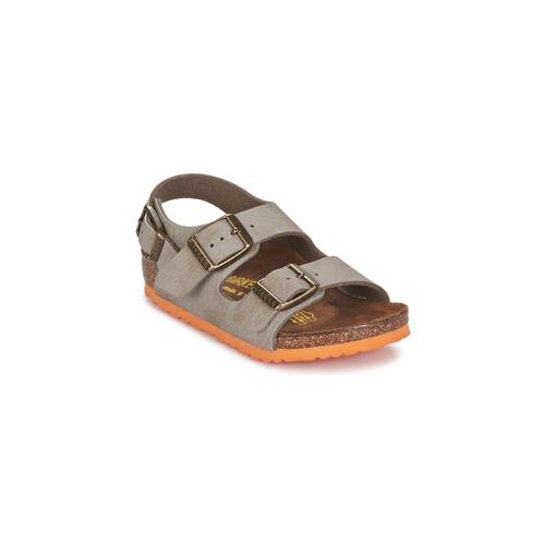 Sapatos Rapaz Sandálias Birkenstock MILANO Toupeira