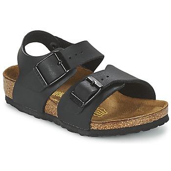 Sapatos Criança Sandálias Birkenstock NEW YORK Preto