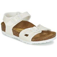 Sapatos Rapariga Sandálias Birkenstock RIO Branco