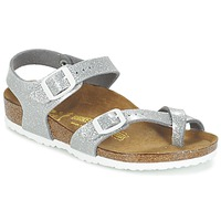 Sapatos Rapariga Sandálias Birkenstock TAORMINA Prateado