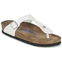 Sapatos Mulher Chinelos Birkenstock GIZEH Branco