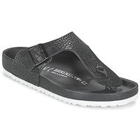Sapatos Homem Chinelos Birkenstock RAMSES PREMIUM Preto
