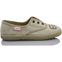 Sapatos Criança Sapatilhas Cienta NATURAL ELASTICO MARRON