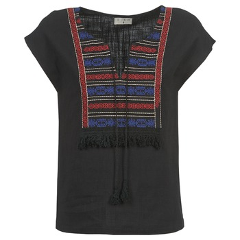 Textil Mulher Tops / Blusas Betty London ETROBOLE Preto