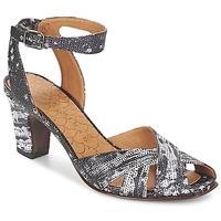 Sapatos Mulher Sandálias Chie Mihara HART Preto / Branco