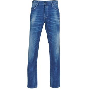 Textil Homem Calças Jeans Replay 901 Azul