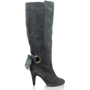 Sapatos Mulher Botas Elia Bruni GRAS GRAFITO GRIS