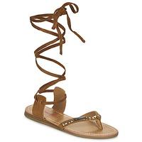 Sapatos Mulher Sandálias Les Tropéziennes par M Belarbi GALTANO Camel