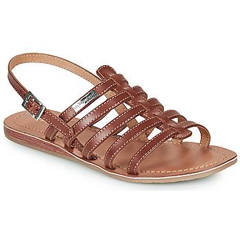 Sapatos Mulher Sandálias Les Tropéziennes par M Belarbi HAVAPO Castanho