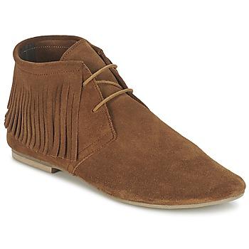 Sapatos Mulher Botas baixas Betty London ELODALE Castanho