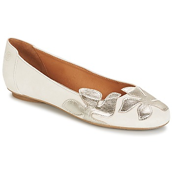 Sapatos Mulher Sabrinas Betty London ERUNE Branco / Prateado
