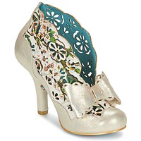 Sapatos Mulher Botas baixas Irregular Choice SASSLE Íris / Bege / Floral