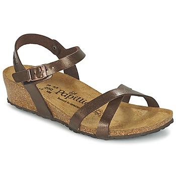 Sapatos Mulher Sandálias Papillio ALYSSA Castanho / Nacre