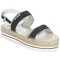 Sapatos Mulher Sandálias Love Moschino SIMONA Preto