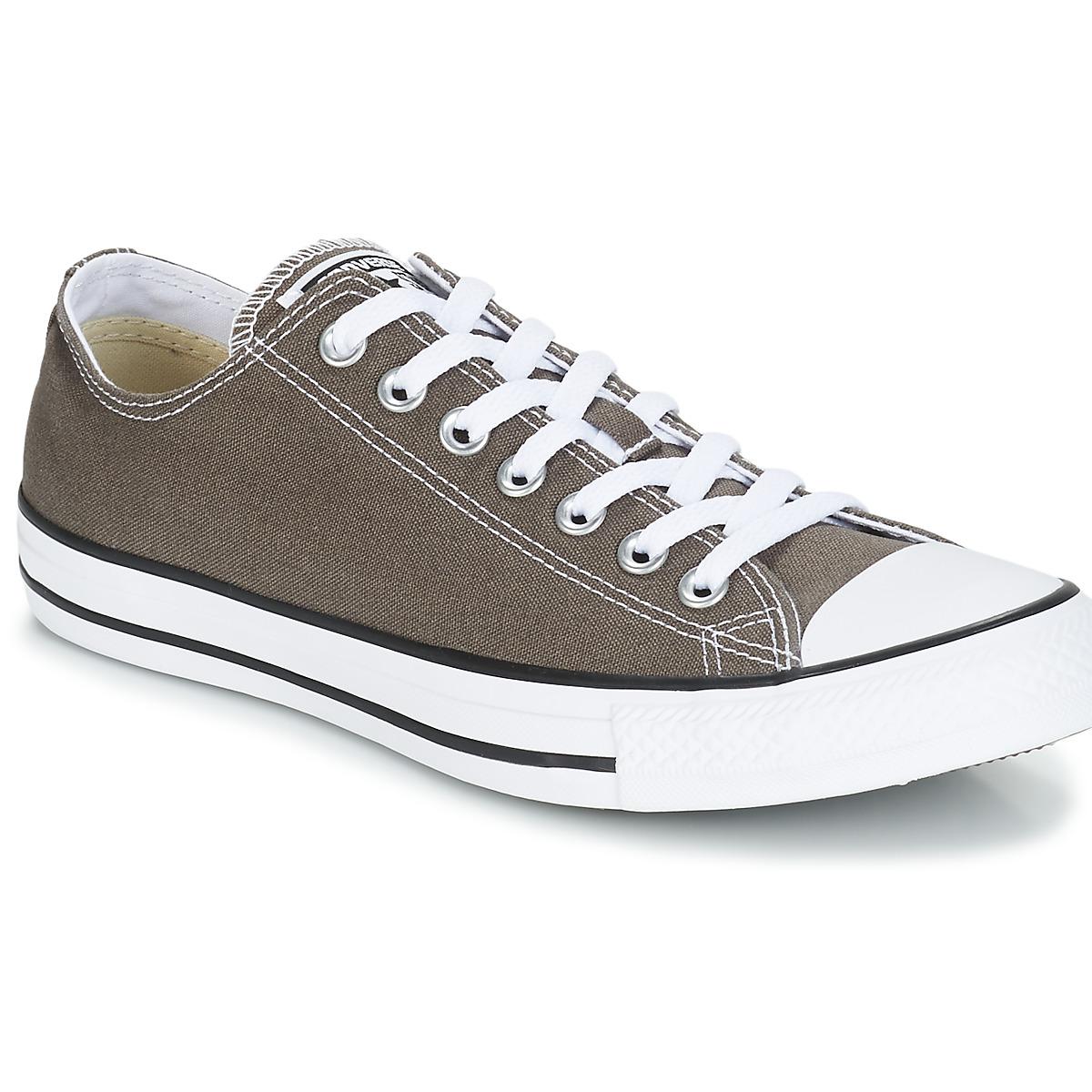41bbac4ef80 Converse CHUCK TAYLOR ALL STAR SEAS OX Antracite - Entrega gratuita com a  Spartoo.pt ! - Sapatos Sapatilhas 60