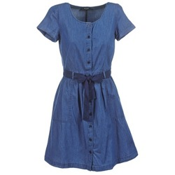 Textil Mulher Vestidos curtos Vila VIKARI Azul