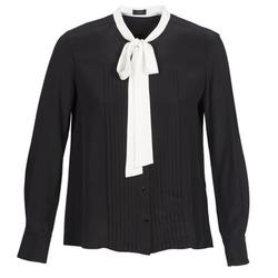 Textil Mulher camisas Joseph VICTOIRE Preto