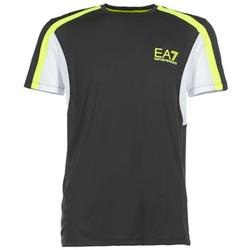 Textil Homem T-Shirt mangas curtas Emporio Armani EA7 VENTUS7 Preto