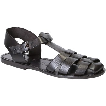 Sapatos Mulher Sandálias Gianluca - L'artigiano Del Cuoio 501 D NERO CUOIO nero