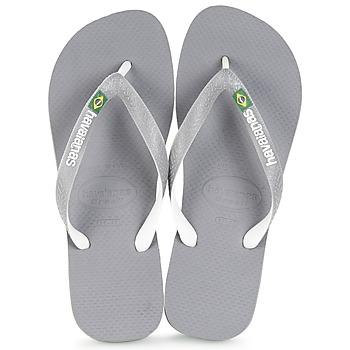 Sapatos Chinelos Havaianas BRASIL MIX Cinza