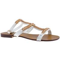 Sapatos Mulher Sandálias F. Milano  Branco