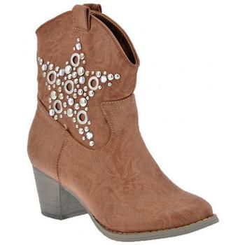 Sapatos Mulher Botins F. Milano  Bege