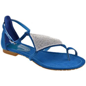 Sapatos Mulher Chinelos F. Milano  Azul