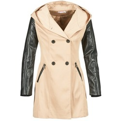 Textil Mulher Trench Moony Mood ECILA Bege