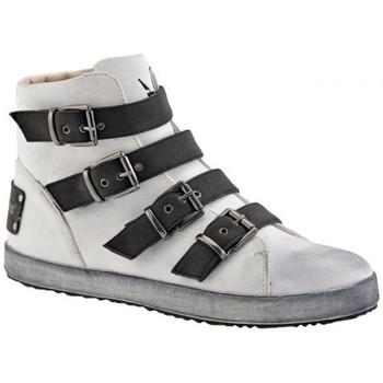 Sapatos Mulher Sapatilhas de cano-alto F. Milano  Branco